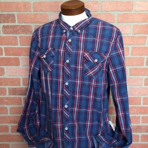 I jeans by Buffalo XXL Button Front shirt (3M31)